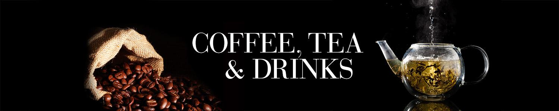 Luxury Coffee, Tea & Drinks