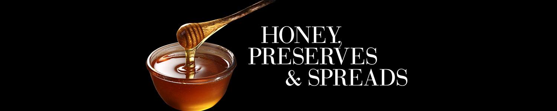 luxury honey, preserves and spreads