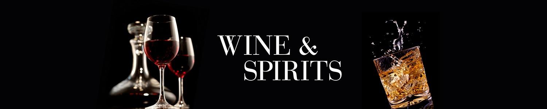 luxury wine and spirits