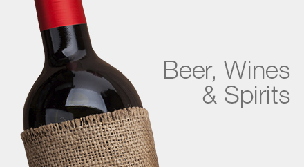 Beer, Wine, Spirits