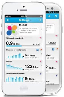 Withings Health Companion App