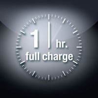 One-hour charge