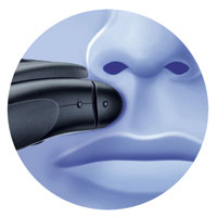 The Braun Series 1 130S-1 Shaver has a precision shaver head for an effective shave, even in hard to reach areas