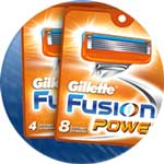 Gillette Fusion Stealth Power available from Amazon.co.uk