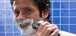 Shaving with foam