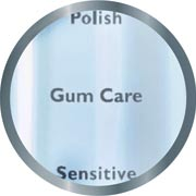 Gum Care - gently stimulates and massages gums