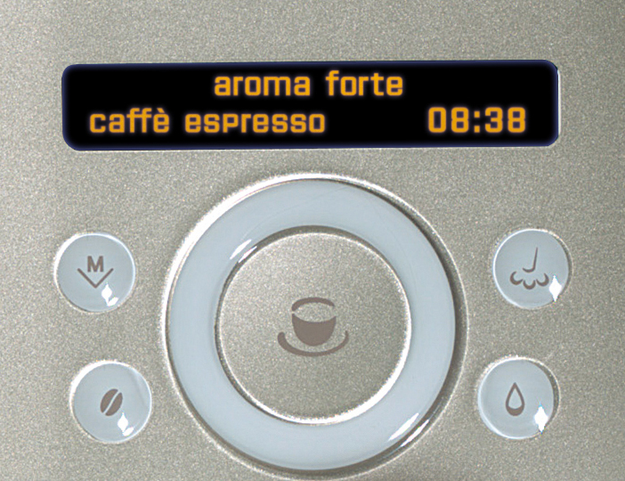 Gaggia Platinum 74846 Swing Up Bean to Cup Coffee Machine