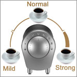 Strength Selector for the coffee of your choice