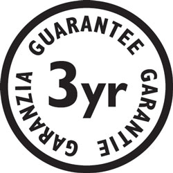 The Remington MB4110 comes with a 3 year guarantee