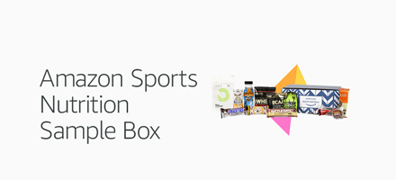 Amazon Sports Nutrition sample box