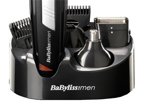 babyliss men grooming kit cordless body hair clipper beard trimmer rechargeable 3030053078951 ebay. Black Bedroom Furniture Sets. Home Design Ideas