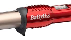 BaByliss Curling Wand has 5 digital heat settings for every hairy type