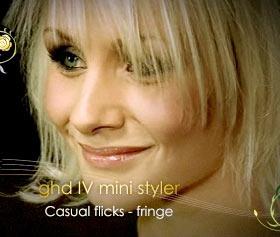 ghd Mini Mark 4 Styler short fringe