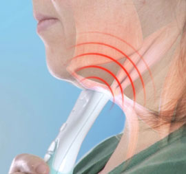 EMS uses small electrical impulses to stimulate your muscles