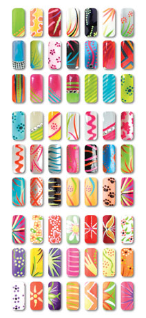 Rio Professional Nail Art Pens Neon Collection Amazon Beauty
