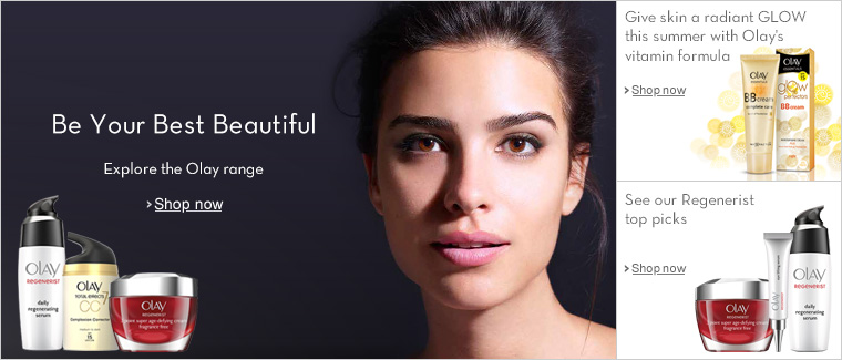Be Your Best Beautiful--Explore the Olay range