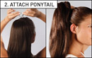Love Hair Extensions Clip-In Synthetic Drawstring Ponytails at Amazon.co.uk
