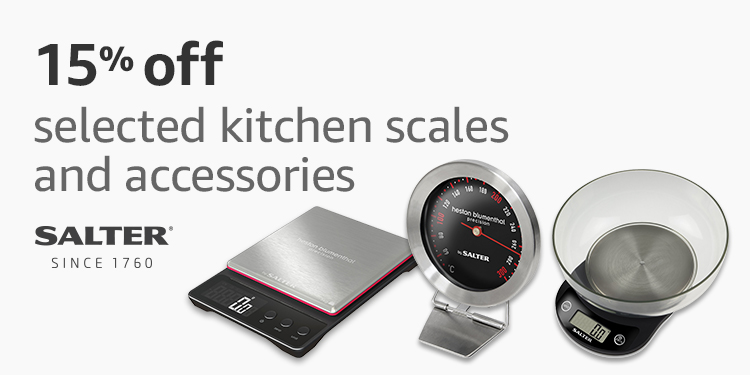 15% off selected Salter kitchen accessories