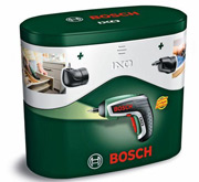 bosch ixo cordless lithium ion screwdriver with right. Black Bedroom Furniture Sets. Home Design Ideas
