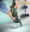 Make useful cuts in wood with the Bosch PMF 180