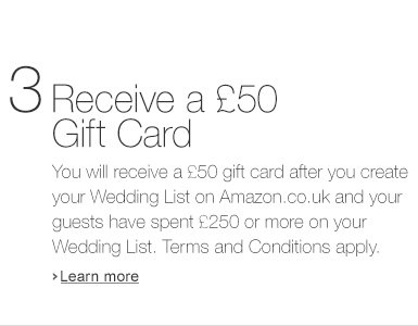 Receive a �50 Gift Card