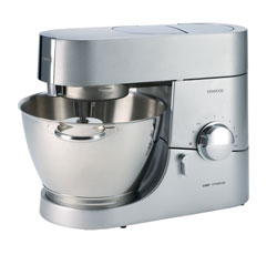 kenwood chef titanium km010 4 6 litre kitchen machine 1400 watt titanium. Black Bedroom Furniture Sets. Home Design Ideas