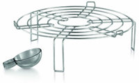 Breville Halo Health Fryer roasting rack and spoon