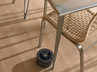 iAdapt Technology allows the Scooba to navigate through tight areas and around furniture, curtains and rugs
