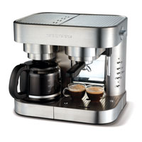 Morphy Richards Elipta 47160 Combination Espresso Maker, Brushed Stainless Steel: Amazon.co.uk ...