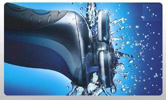 Philips Nivea Moisturizing Rotary Shaving System - Washable