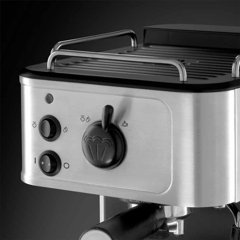 russell hobbs coffee machine how to use