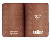 Braun Silk epil X'elle 5585 Body & Face Epilator