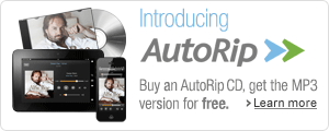 Introducing AutoRip: Buy a CD and get the MP3 free