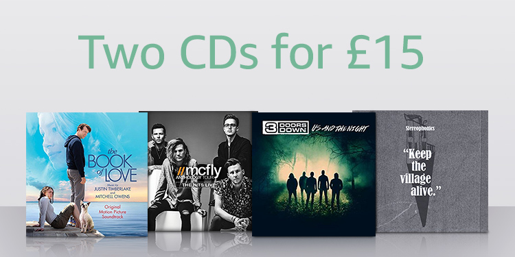 Two Cds for £15