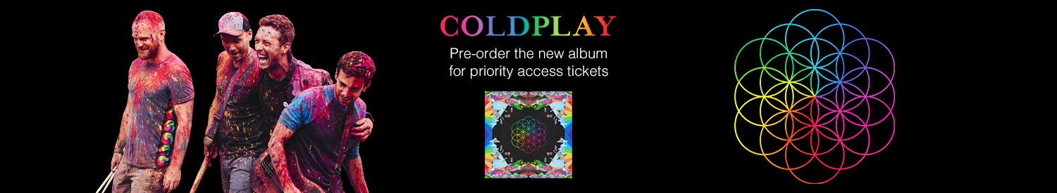 Coldplay: Ticket Offer