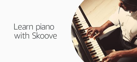 Learn piano with Skoove
