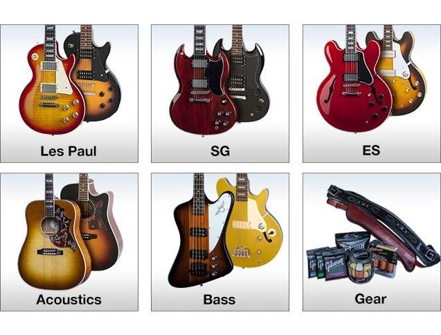 gibson brands store musical instruments dj. Black Bedroom Furniture Sets. Home Design Ideas