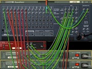 The back of the Rack in Propellerhead Reason