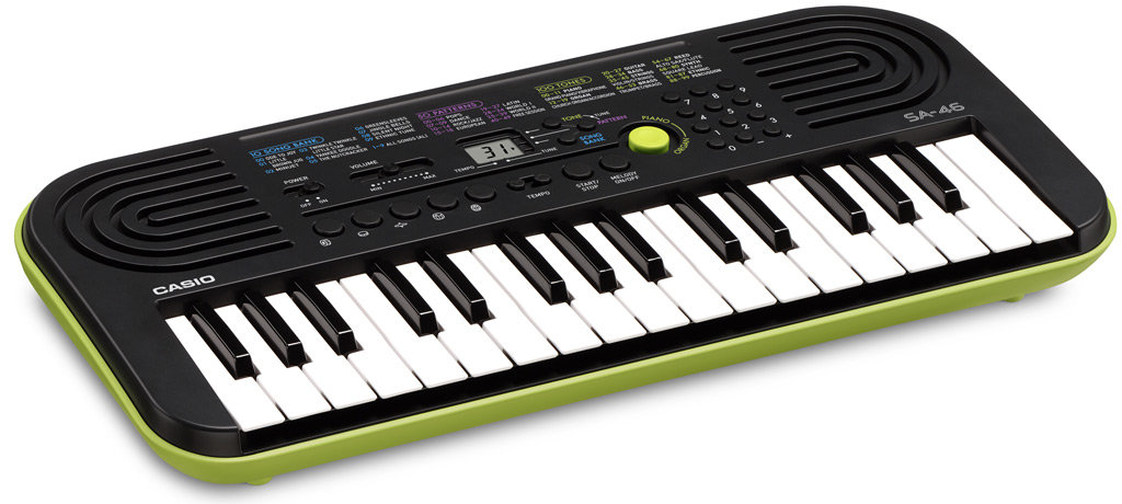 casio sa 46 mini keys keyboard musical instruments. Black Bedroom Furniture Sets. Home Design Ideas