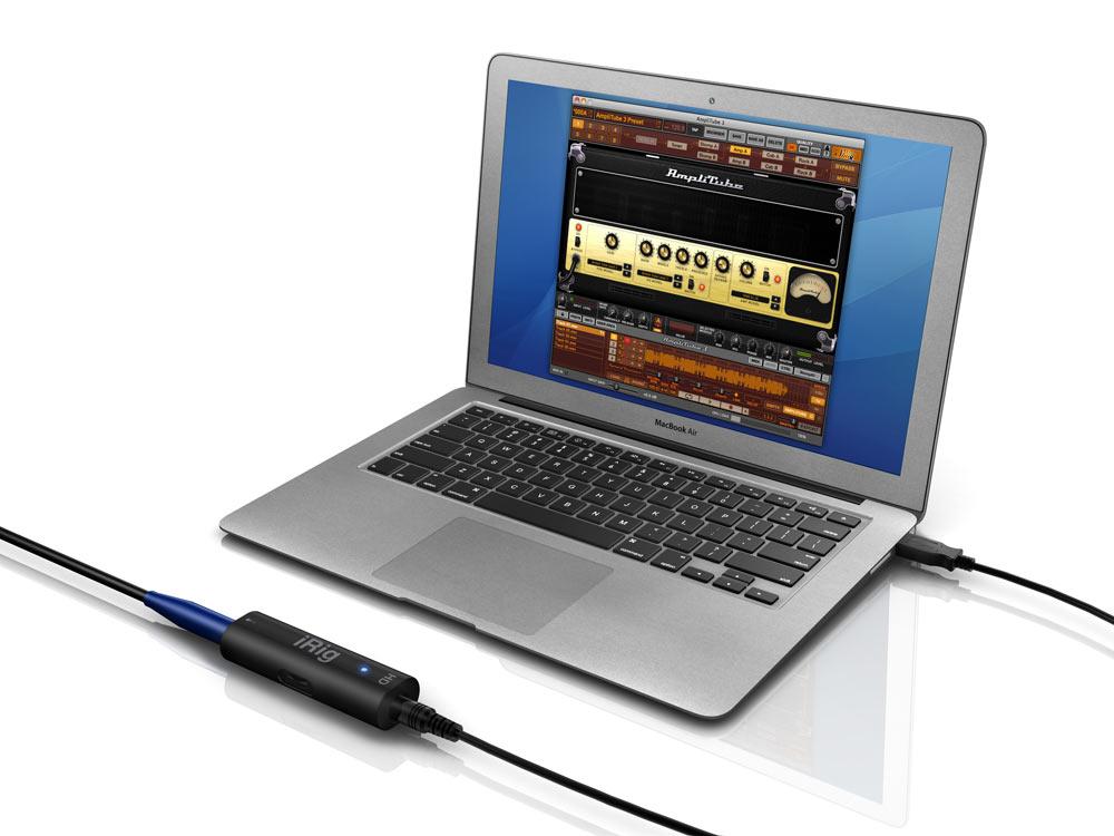 iRig HD Digital Guitar/Bass/Instrument Interface for iOS