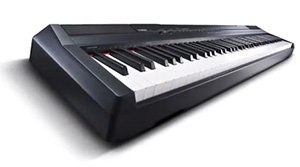 yamaha p105 portable digital piano black. Black Bedroom Furniture Sets. Home Design Ideas