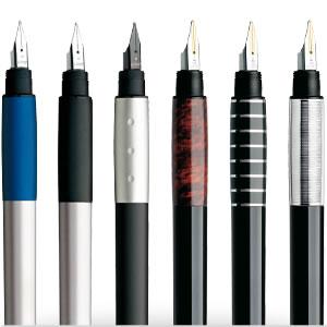 Gamme de stylos plume Lamy Accent Colours