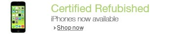 Visit the Certified Refurbished iPhone Store
