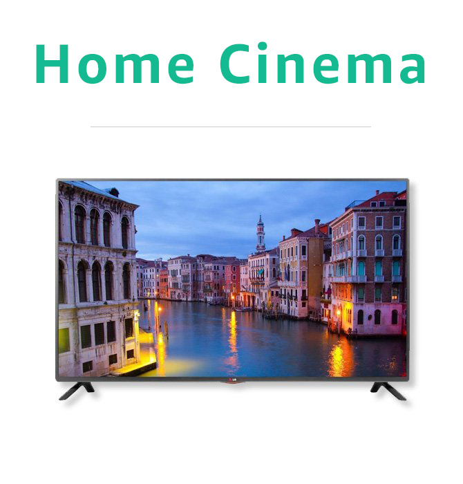 Certified Refurbished Home Cinema
