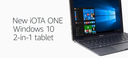 New iOTA Windows 10 Tablet
