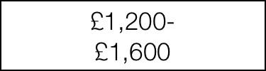 £1200-£1600