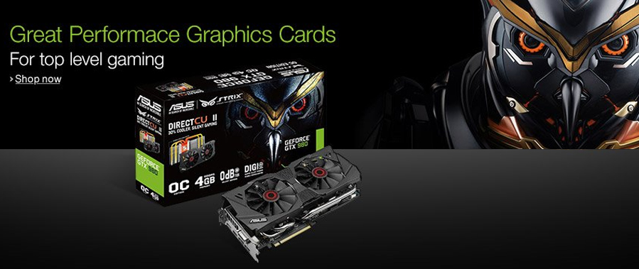 Great performance graphics cards