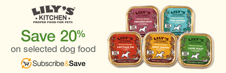 Save 20% on selected dog food