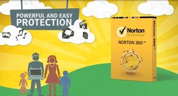 Norton 360 gay screen