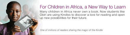 Case study-Now children in Africa like Obiri are using Kindles to discover a love for reading